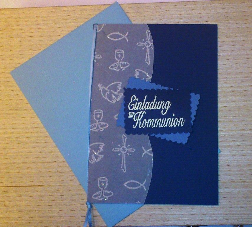 Patty's Bastelwelt / Aufgeräumt: 30 / Einladungskarten die 2te...