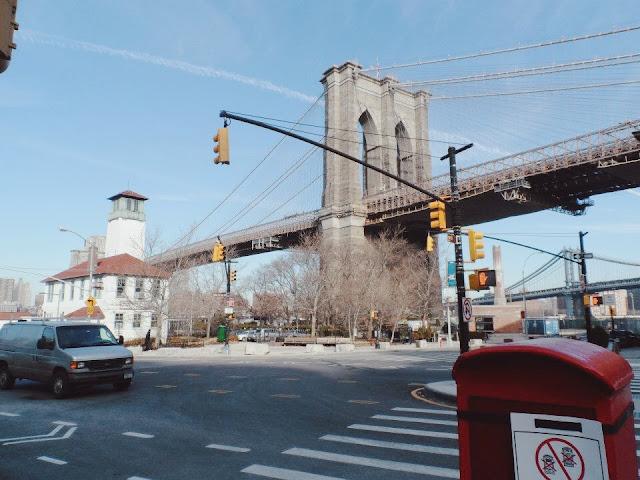 winter in new york image, brooklyn photo
