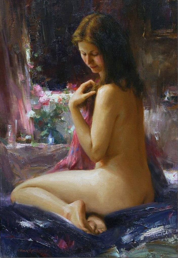 Romel de la Torre 1963 | Filipino Figurative painter