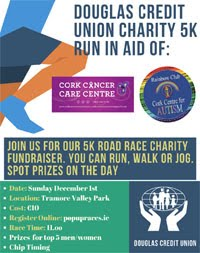 Charity 5k in Cork City - Sun 1st Dec 2019