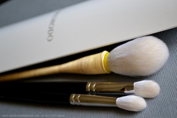 Hakuhodo Large Pointed Yachiyo Cheek Blush Makeup Brush Indian Beauty Blog Review Japanese traditions