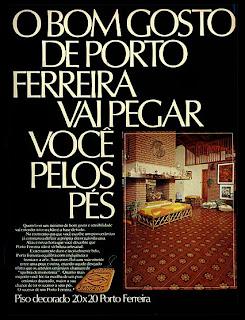 propaganda Cerâmica Porto Ferreira - 1976