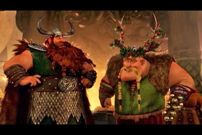 Gift Night Fury Stoick Gobber Netflix Christmas Holiday specials