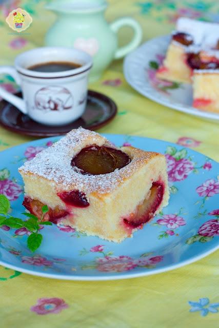 ciasto ze śliwkami, przepis na ciasto ze śliwkami, śliwki ciasto, proste ciasto ze śliwkami