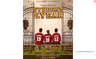 Student Of The Year WideScreen HD Wallpapers Starring Alia Bhatt, Varun Dhawan, Siddharth Malhotra