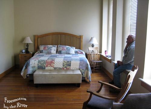 Bedroom Suite at Bonaparte Inn