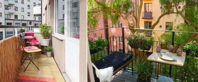 Ideias& Soluções por Jesana Costa Jardim de inverno Varandas floridas -> Decoração De Area Externa Pequena