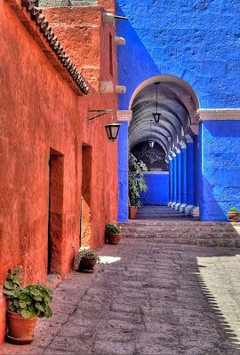 Monasterio de Santa Catalina, Arequipa, Perú.