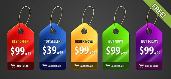 Shiny Price Badges