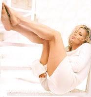 Kim Basinger calves