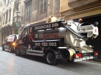 Desatascos Komunal en Hospitalet de Llobregat