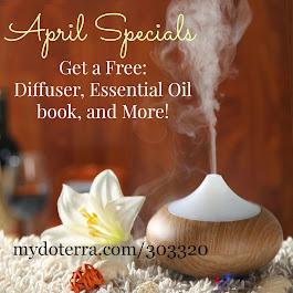 Our April Specials!