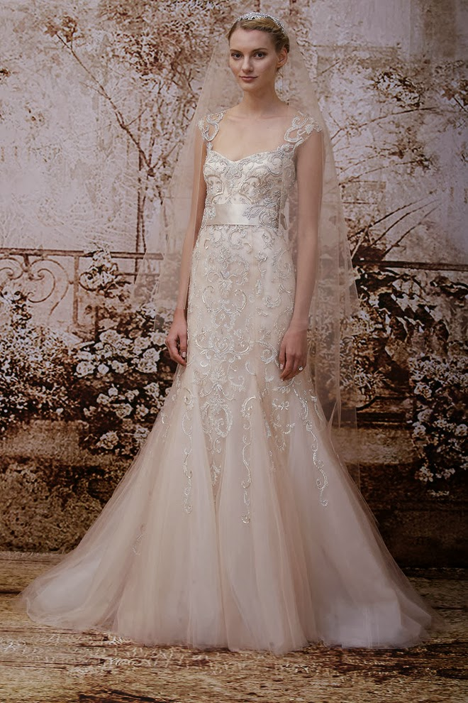 Wishahmon Blog Monique Lhuillier Fall 2014 Bridal Collection