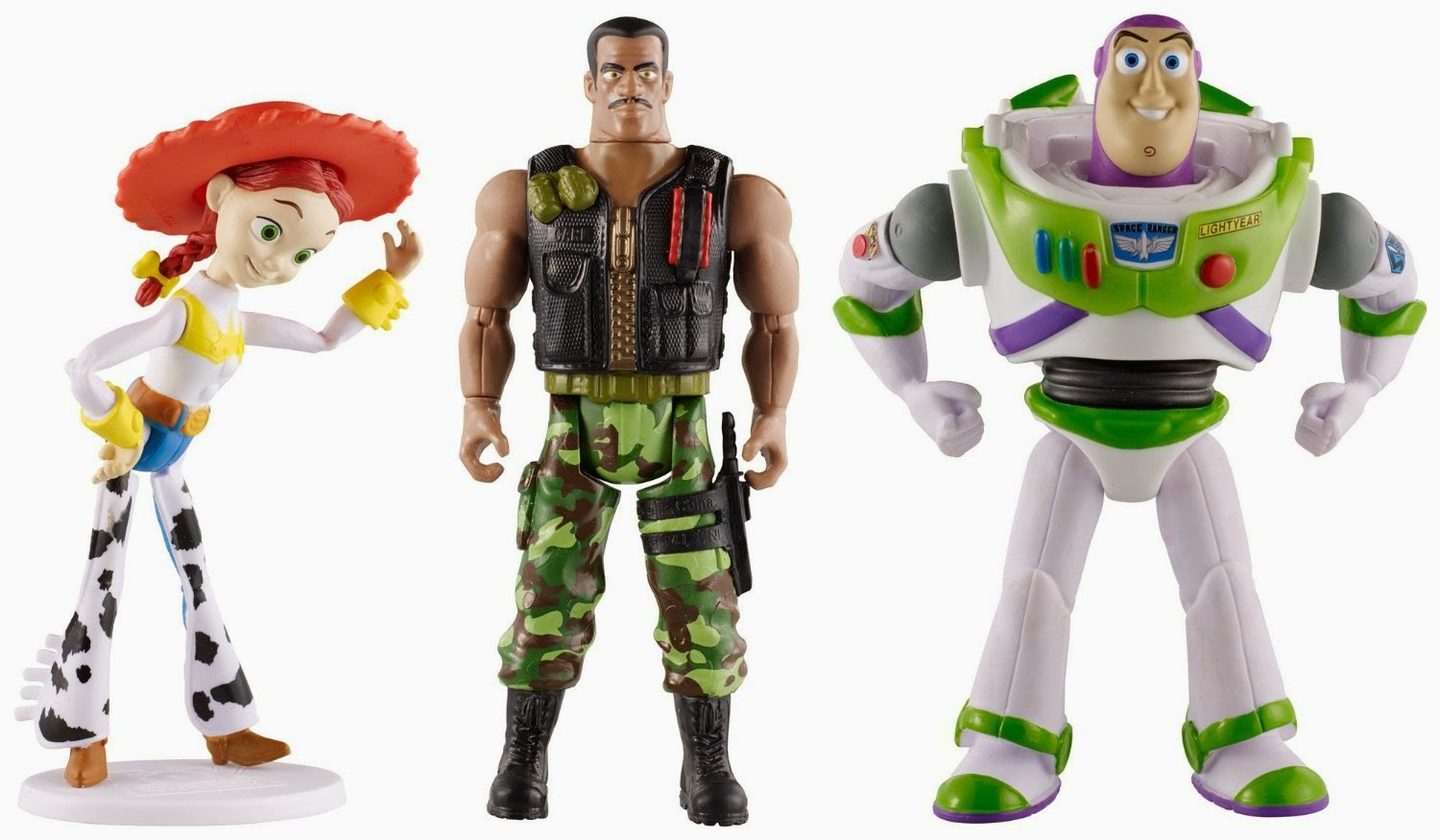 Toy Story Figures : Super punch they made a toy story combat carl figure