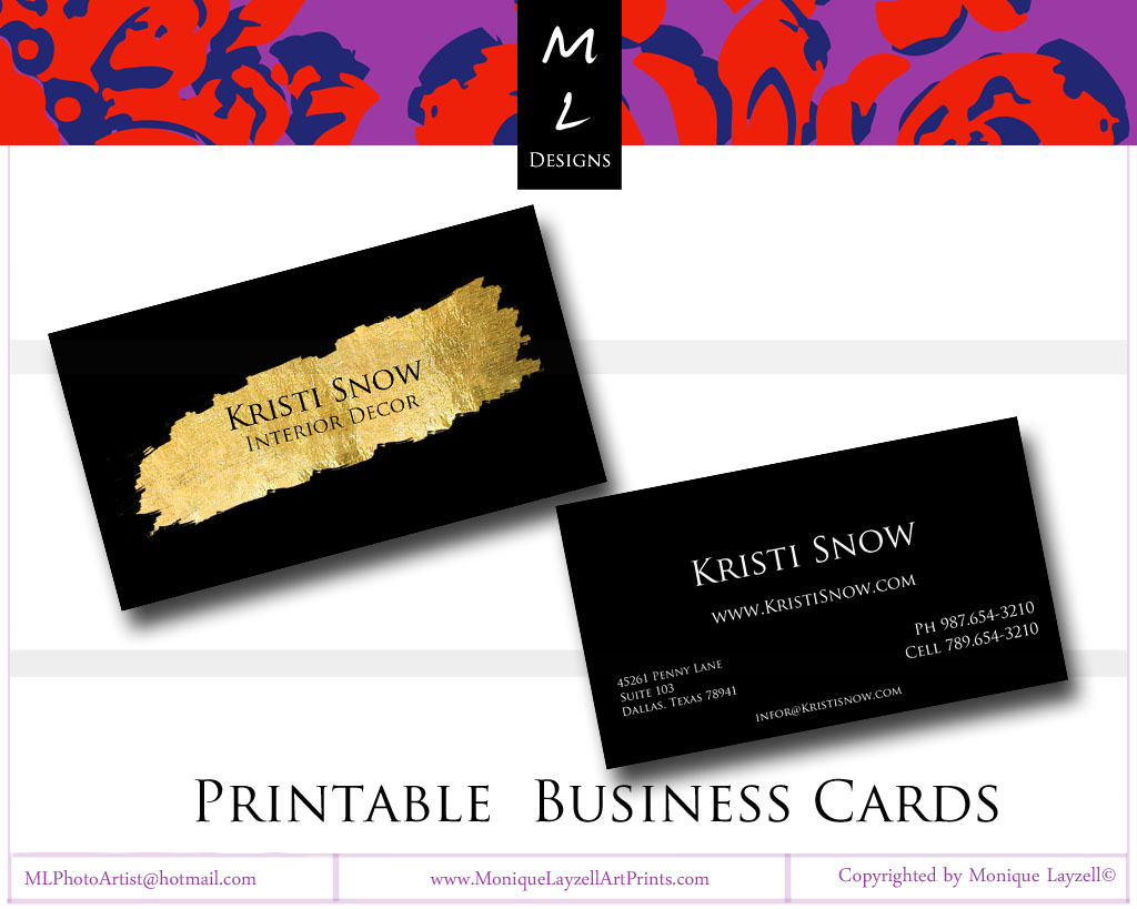 Custom Business Cards | Pearls & Coffee Lets Talk