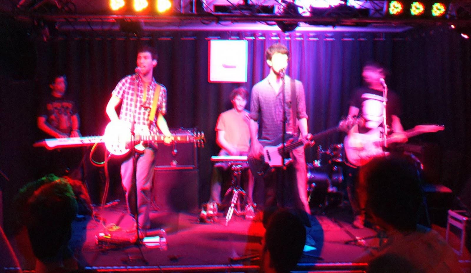 The Stumps en concert à l'Etage, en 3D