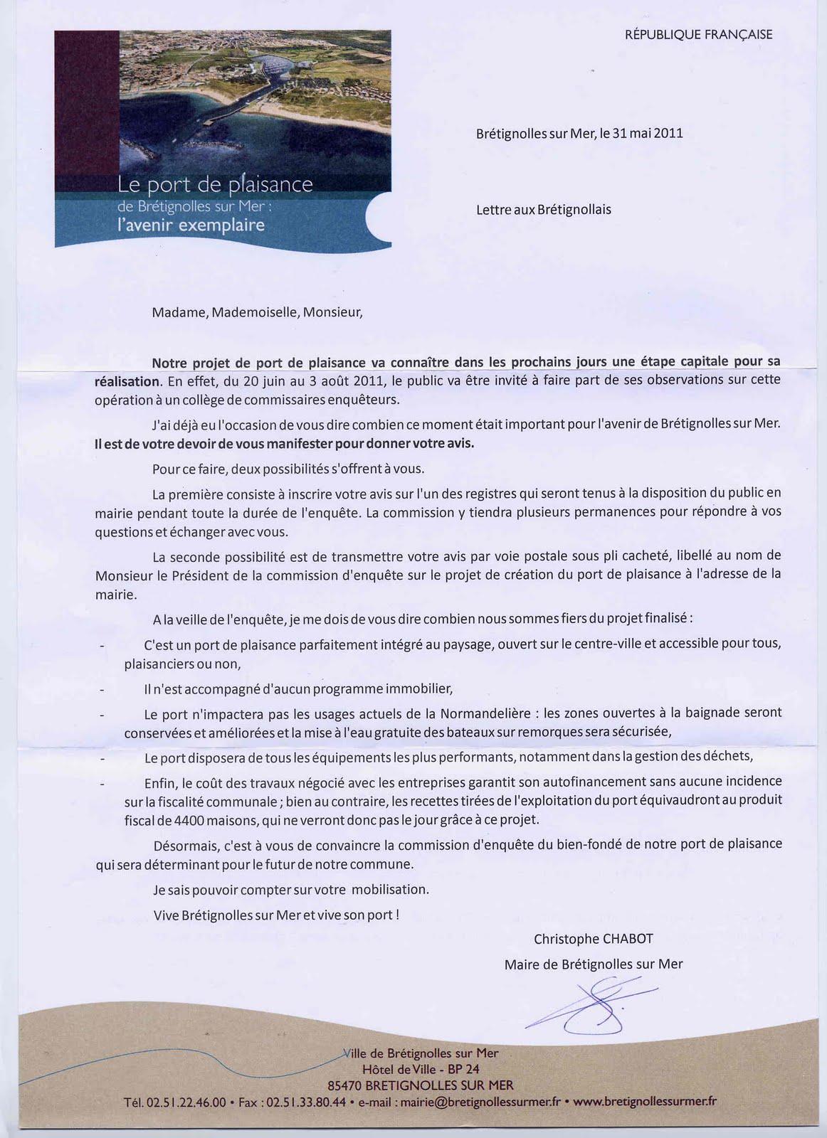 Projet de port br tignolles histoire du fiasco d 39 un maire christophe chabot 2008 2014 - Port irlandais en 7 lettres ...