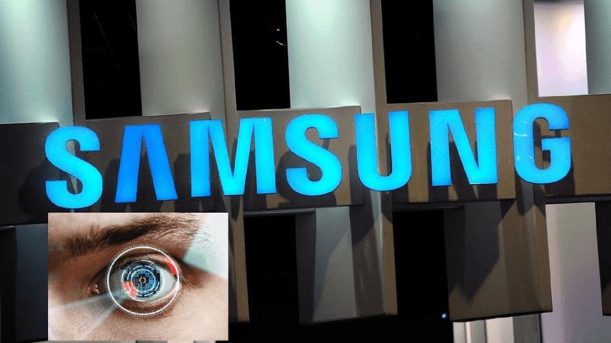 Samsung Galaxy S5 İris Tarayıcı
