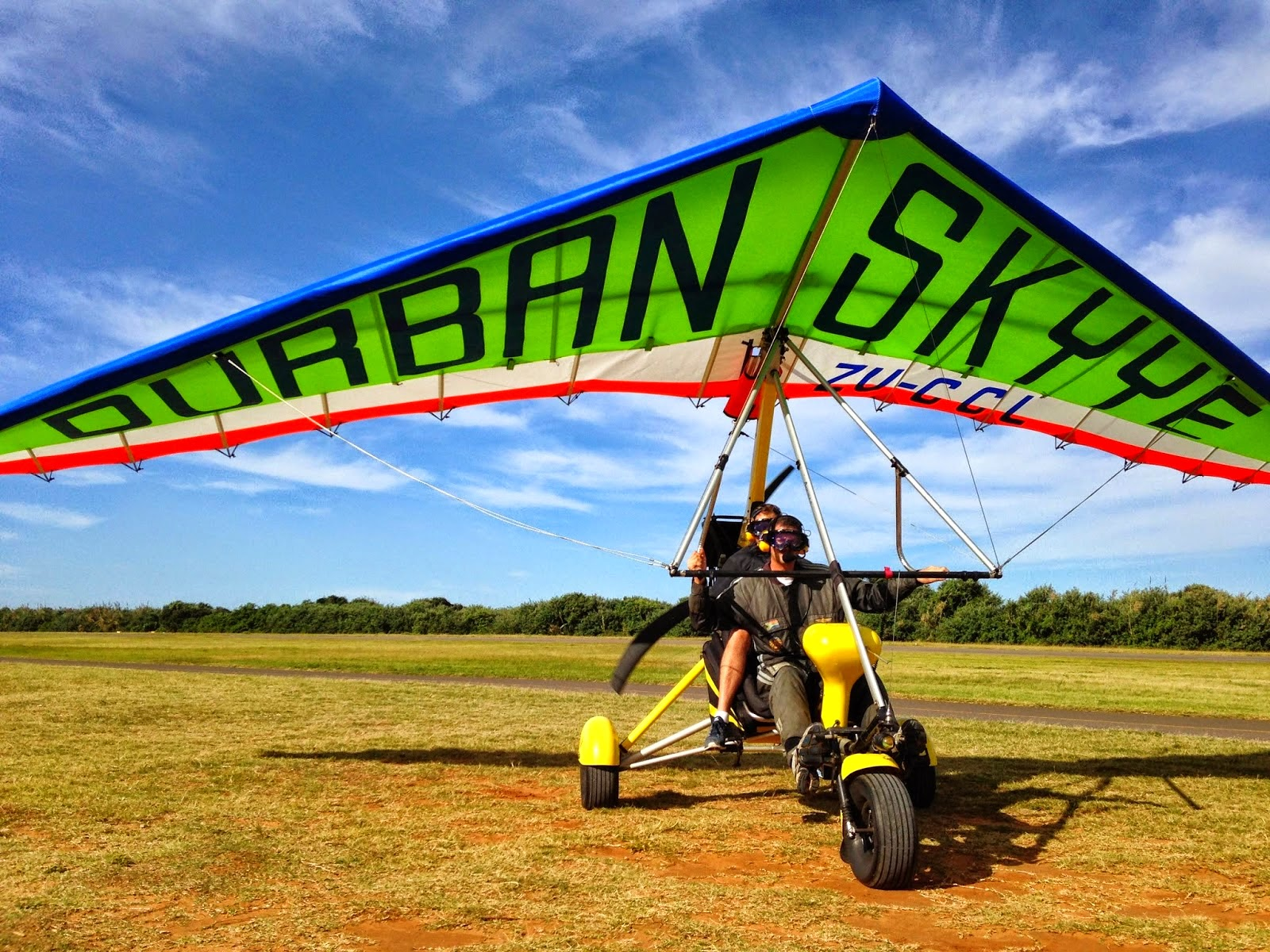 Our Flight School microlight