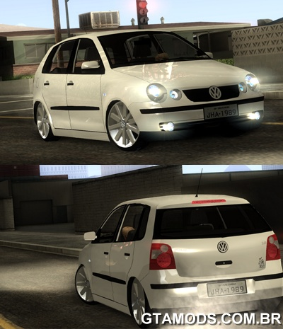 Vw Polo 2005 Tebão + 17