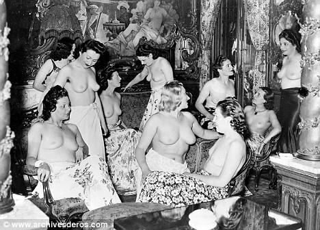 female intimate massage western brothel