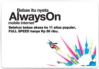 Paket Internet 3 Always On