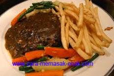 resep praktis dan mudah membuat steak daging sapi spesial enak, gurih, lezat