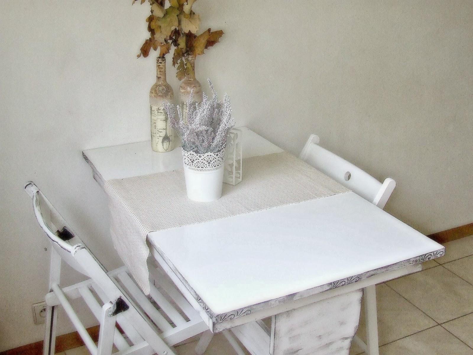 jak odnowić stary stół w stylu rustykalnym inspiracja DIY