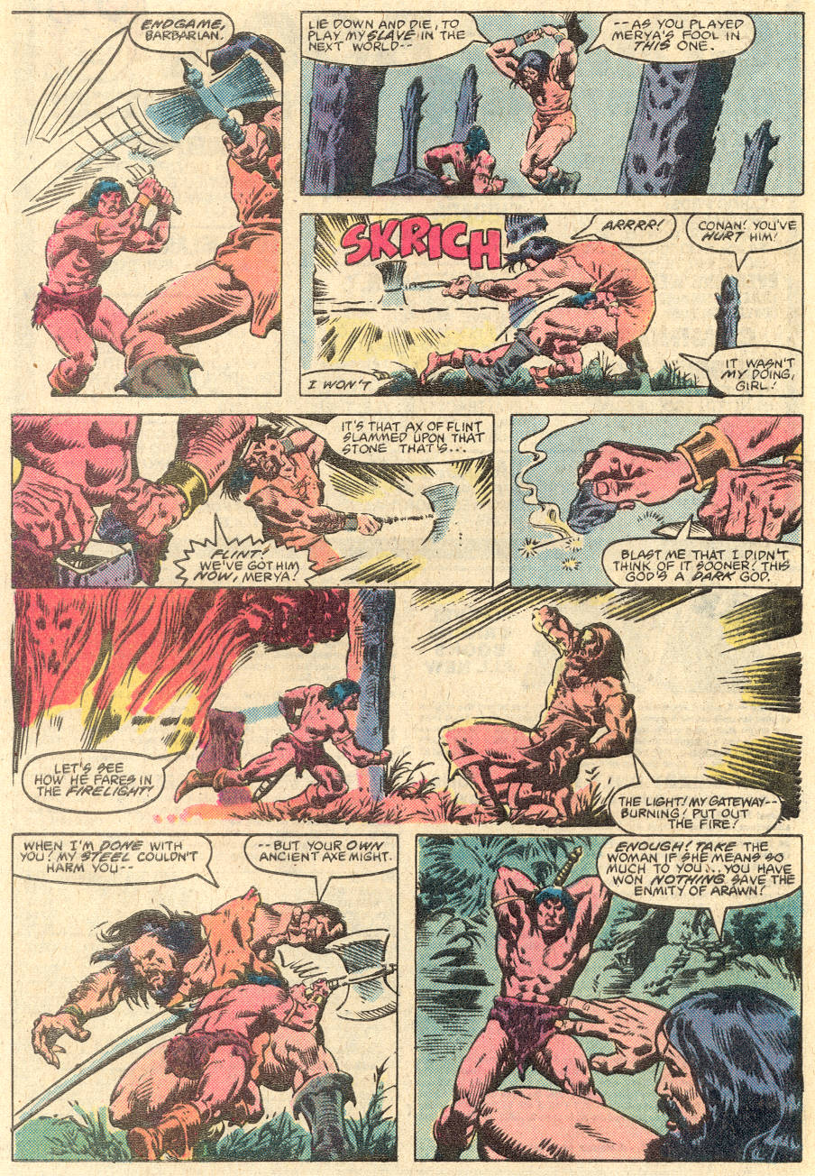 Conan the Barbarian (1970) Issue #135 #147 - English 23
