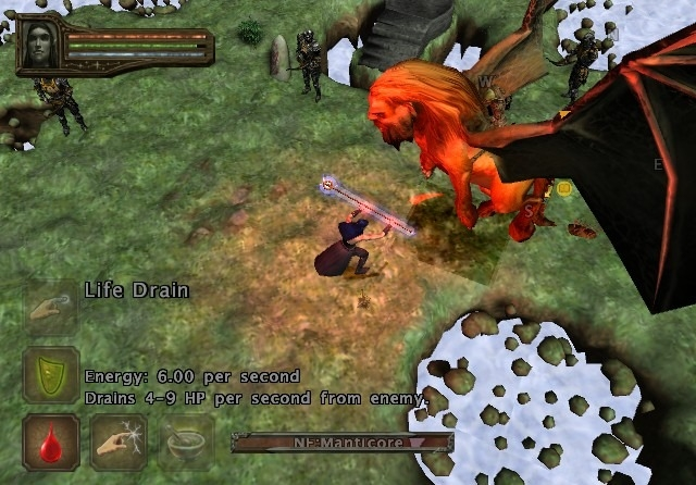 baldurs gate dark alliance 2 pcsx2