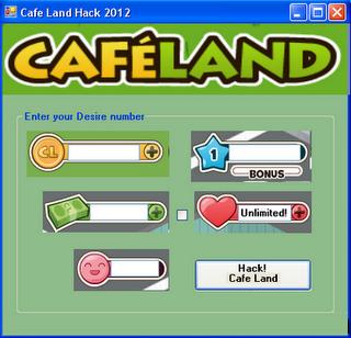cafeland hack