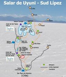 Ruta Uyuni y sus alrededores