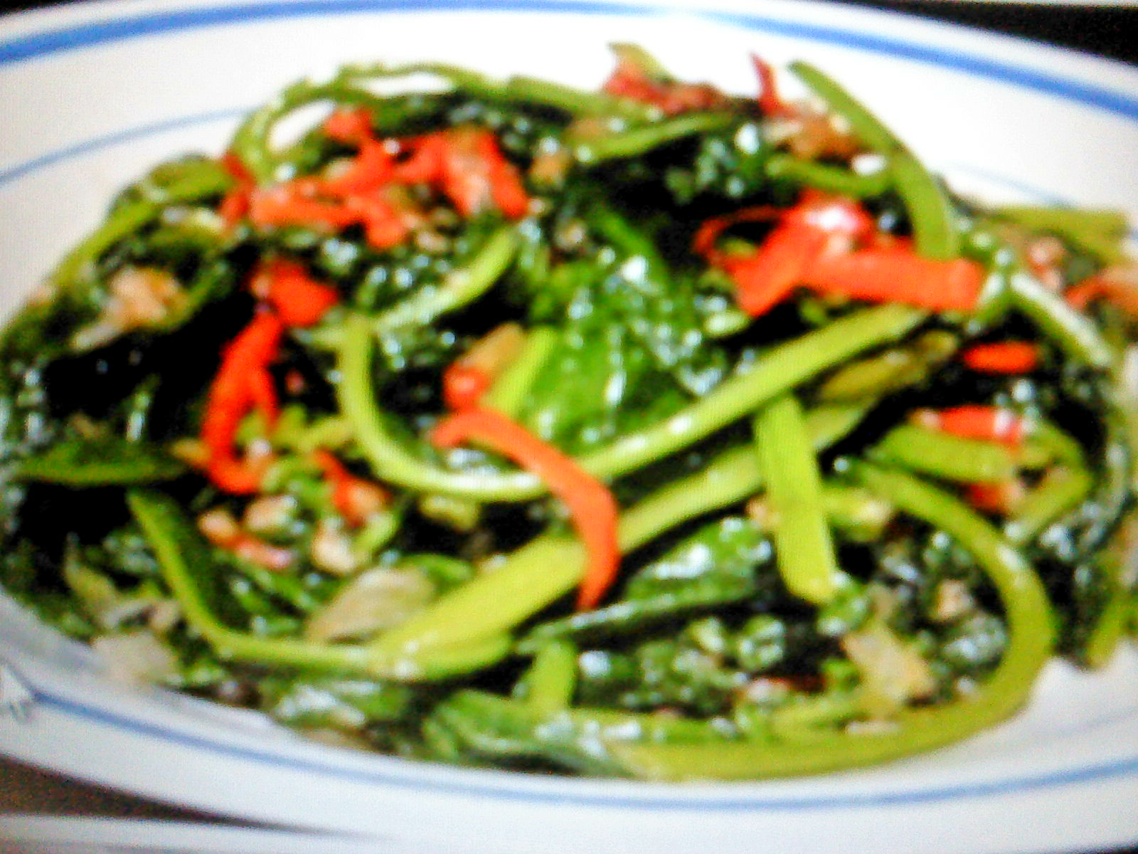 how to make tumis kangkung
