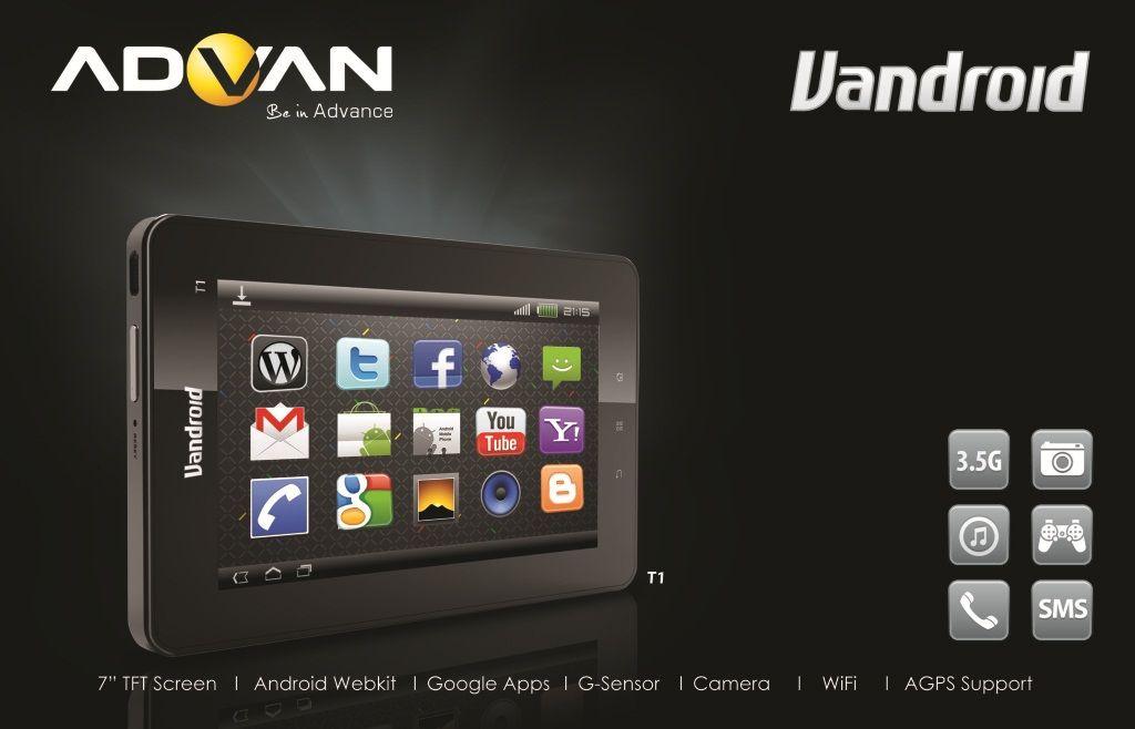 dan harga terbaru tablet android 3 5g advan vandroid t1 murah dan ...