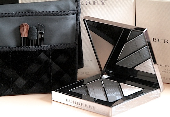 burberry complete eye palette quad yeux test avis n°01 smokey grey