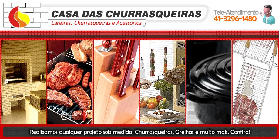 Casa das Churrasqueiras em Curitiba