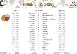 Calendario Partite Catania