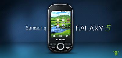Pechincha Galaxy 5 por apenas R$ 3.499,00