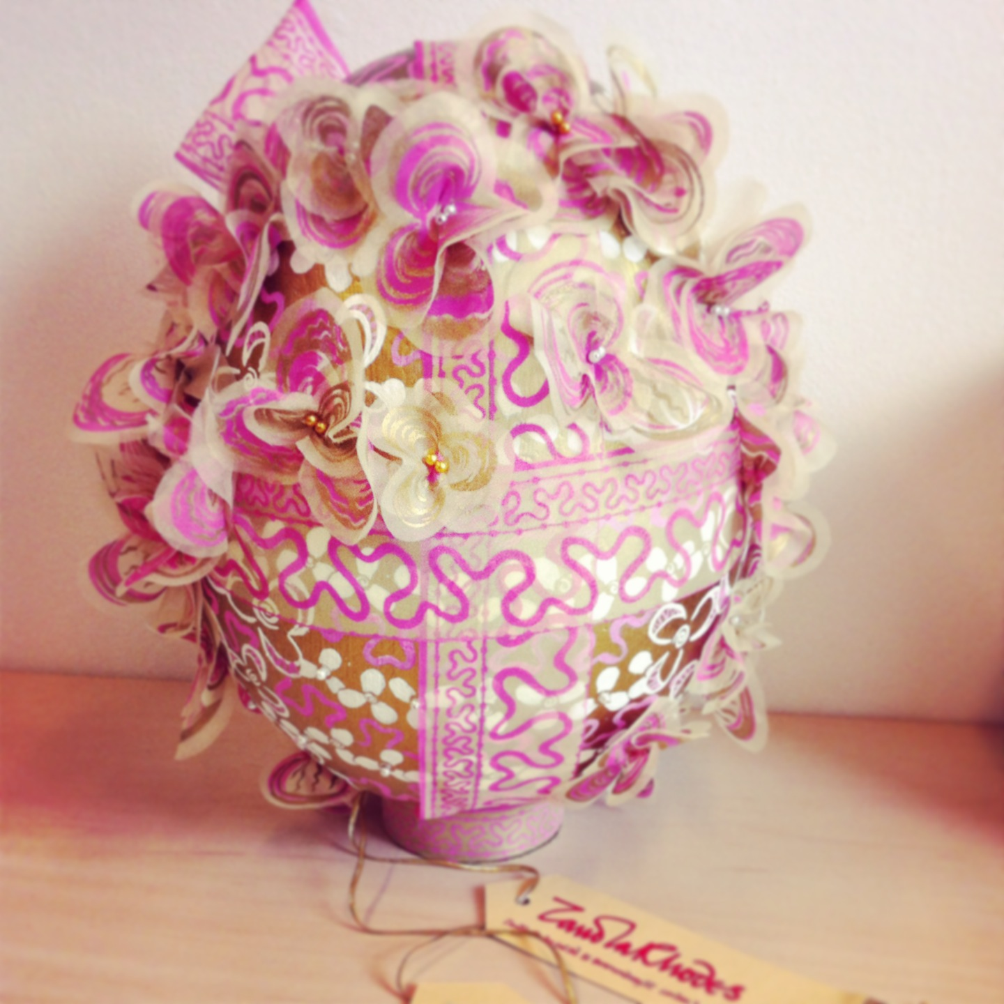 Easter egg by Zandra Rhodes
