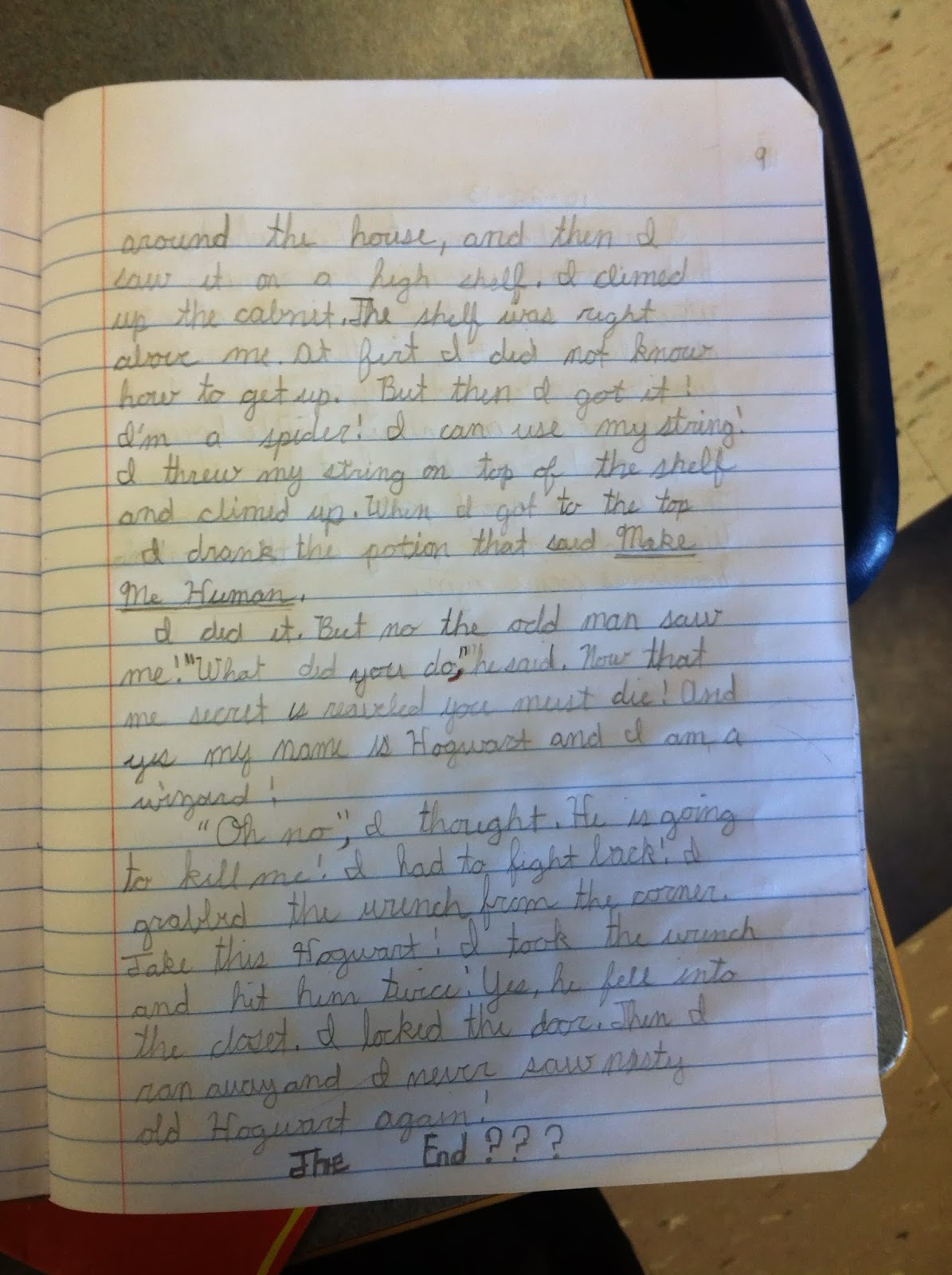 creative writing journal entry topics