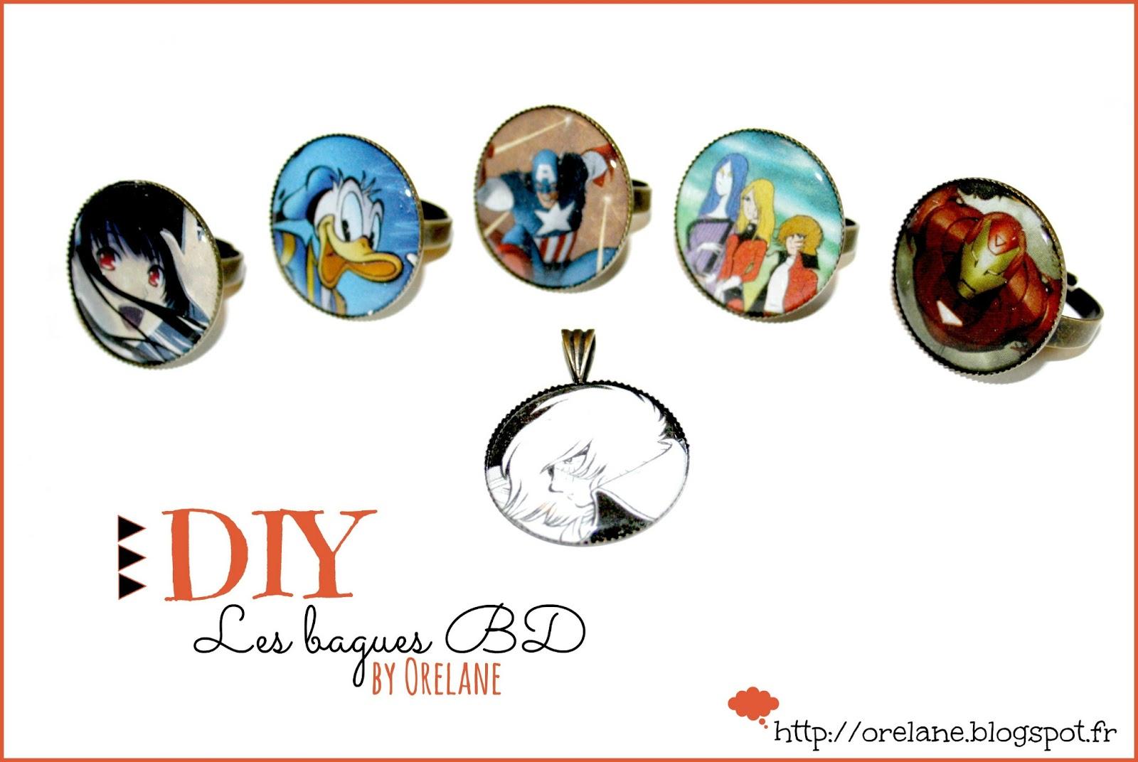 Orelane diy facile et rapide des bijoux bd pour l 39 t - Diy facile et rapide ...