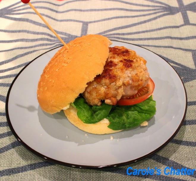 Chorizo Burgers by Carole's Chatter