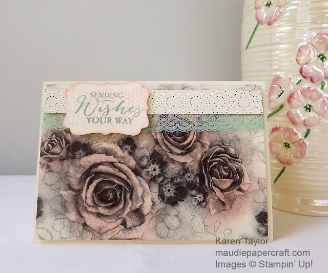 Stampin' Up! Timeless Elegance DSP card