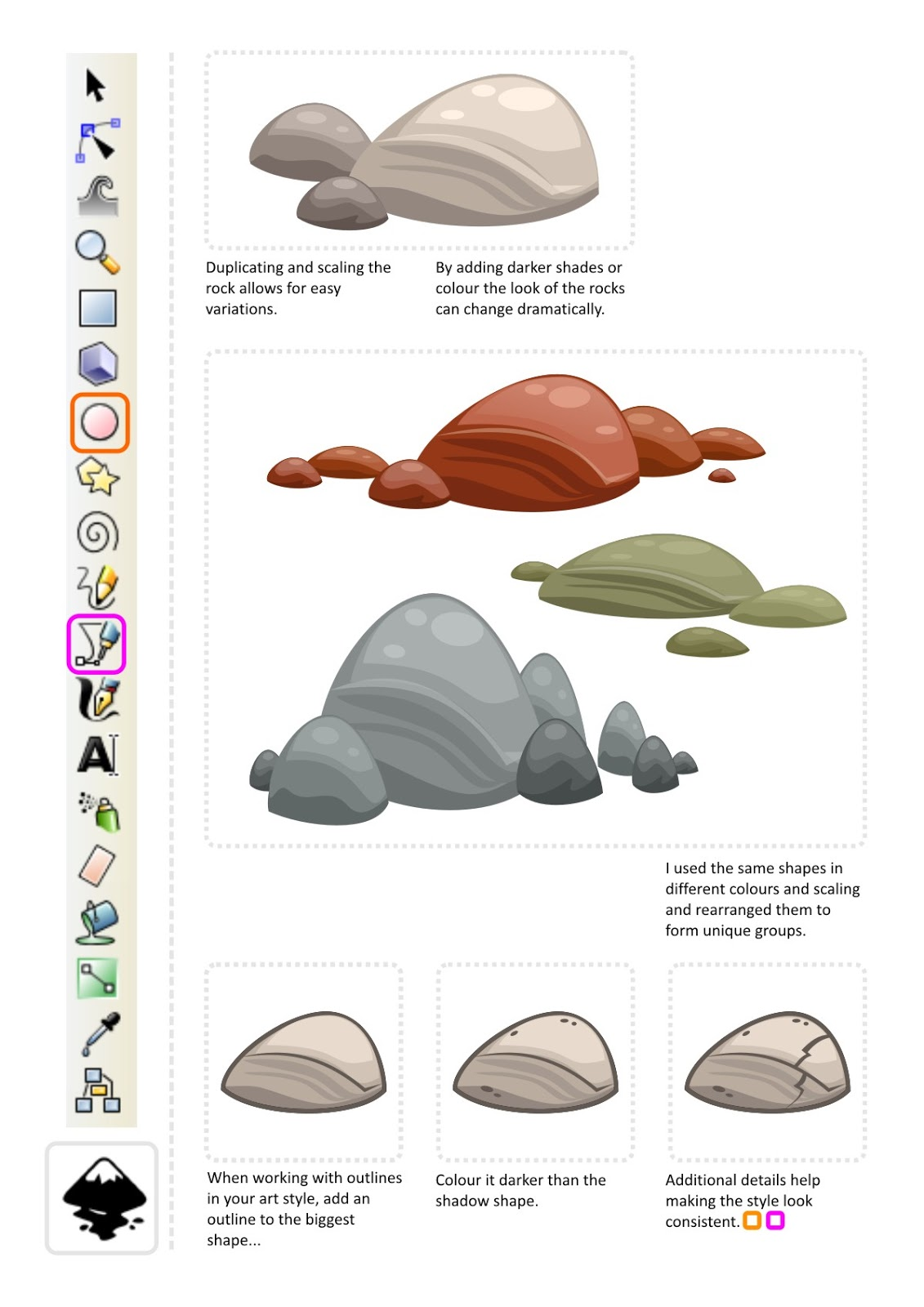 one note how to get fancy draw colours