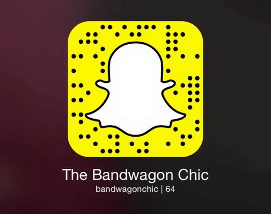 Snapchat: bandwagonchic