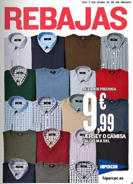 catalogo hipercor rebajas enero febrero 2014