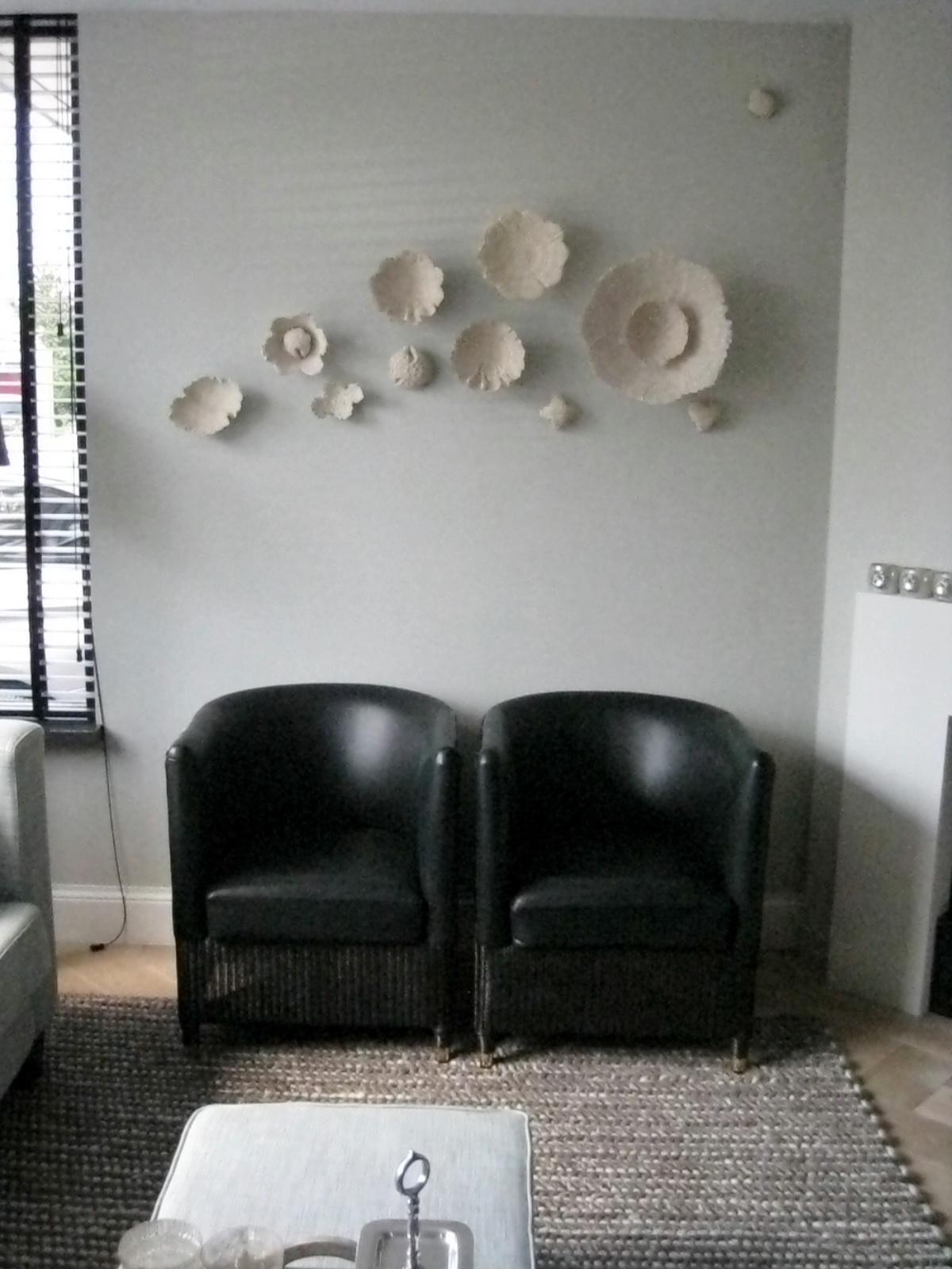 Binnenzinnig kunst en interieur kunstwerk aan de muur for Huisjes voor aan de muur