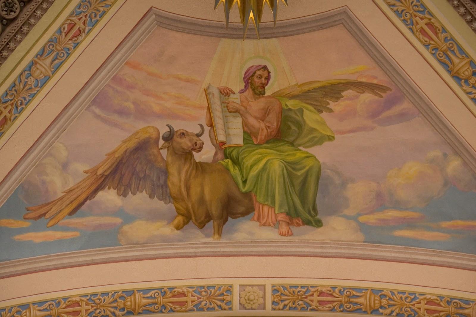 San Luca Evangelista dans immagini sacre April+30,+St.+Luke