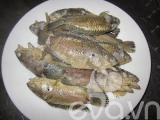 Canh cá rô đồng