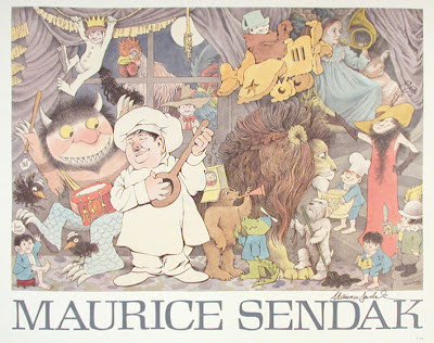 the life and works of maurice sendak These books, which include first edition works by important american authors such as herman melville and henry james as well as remarkable examples of illustrated children's books by lothar meggendorfer and beatrix potter maurice sendak was part of a vanguard of writers and.